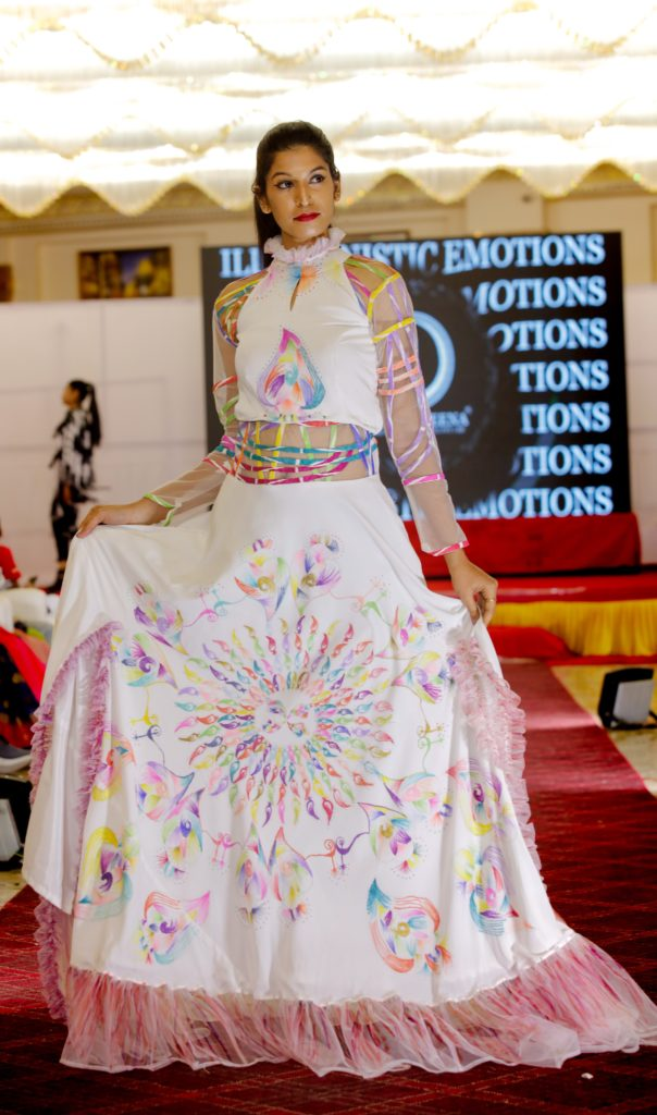 Chetanveena Fashion Couture House First Edition Of Illusioistic Emotions 365telugu Com