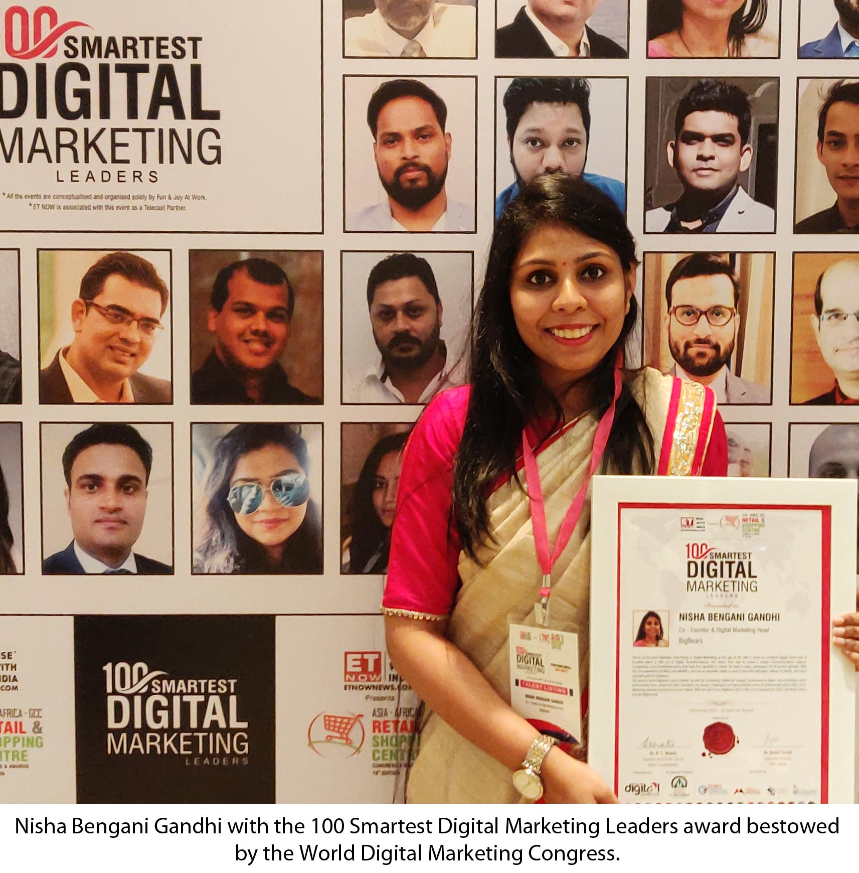 Hyderabad S Nisha Recognized Among The World S 100 Smartest 365telugu Com