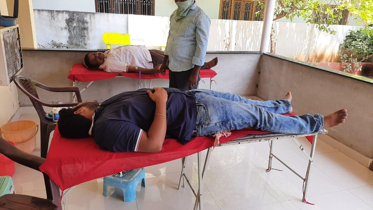 """Blood Donation Challenge"""" in social media"""