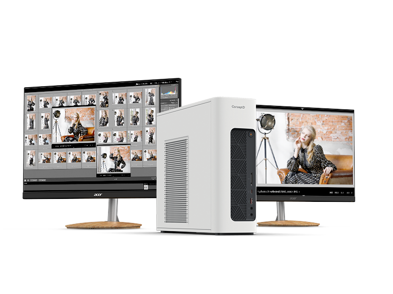 Acer Expands ConceptD Series for Creators With New Notebooks, Desktops and Monitors