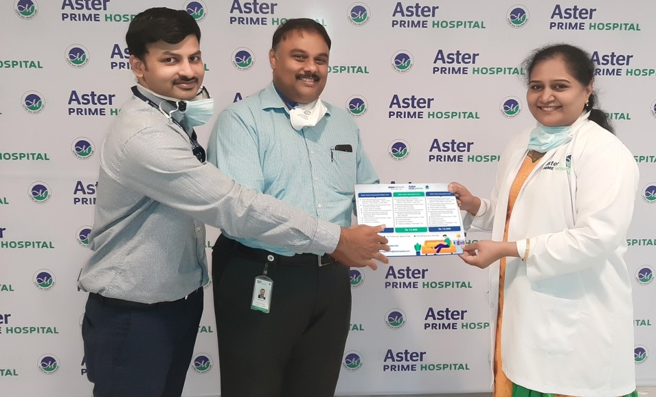 Aster Prime Hospital,Launches Special Home-Quarantine Care Packages under its premier Aster@Home program