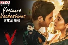 Amazon Prime Video launches a soul-stirring song, titled Vasthunna Vachestunna, from the eagerly,awaited Nani and Sudheer Babu-starrer 'V'