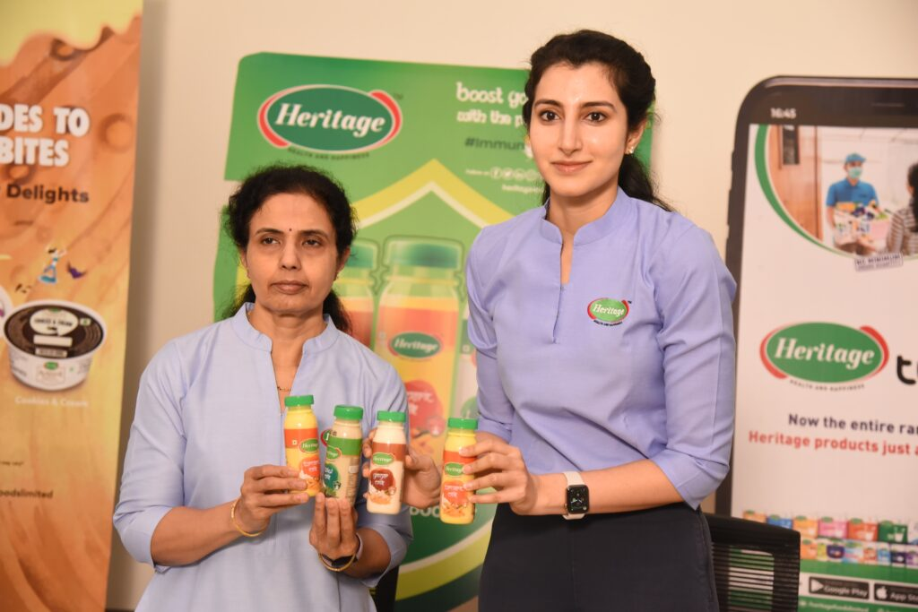 Heritage Foods launches immunity boosting Ginger, Tulsi and Turmeric milk variants