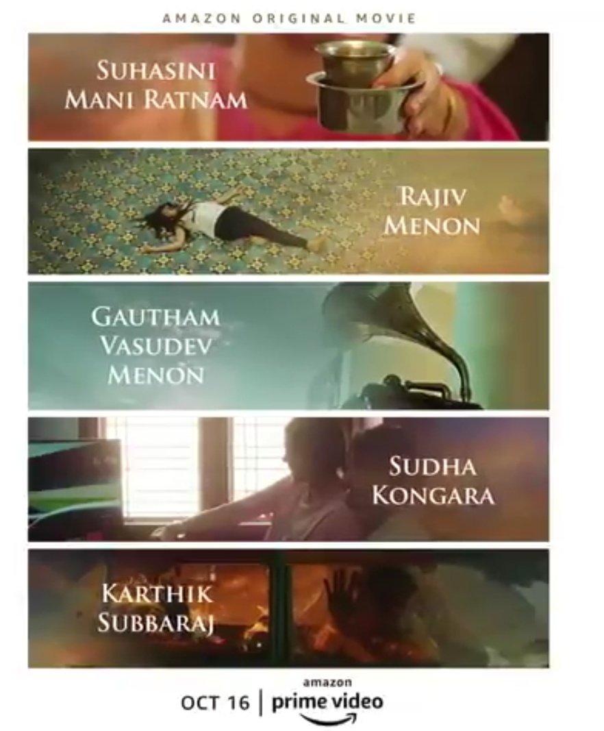 Amazon Prime Video to Launch Amazon Original Movie Putham Pudhu Kaalai,