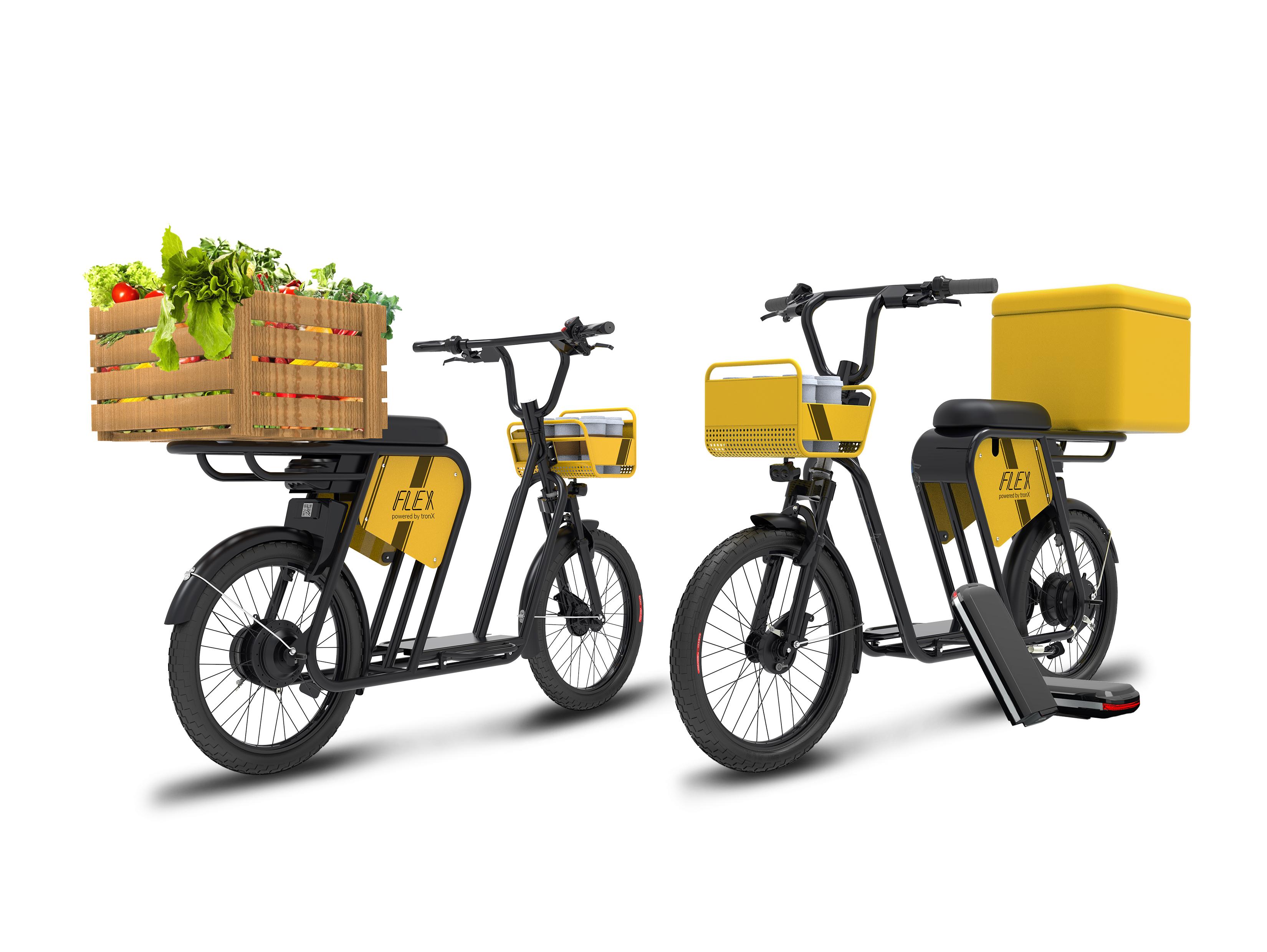 Smartron launches all new electric cargo bike platform: tbike flex