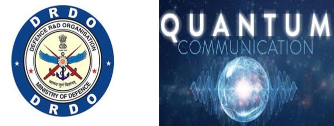 Quantum Communication between two DRDO Laboratories