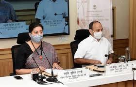 Union Textiles Minister Smriti Zubin Irani inaugurates 8th India International Silk Fair on Virtual Portal from 31st January to 4th February
