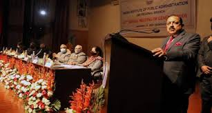 Union Minister Dr Jitendra Singh addresses the 42nd Annual General Meeting of the Indian Institute of Public Administration (IIPA) J&K Branch