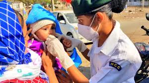 National Polio Immunization Drive Begins Across the Country Close to 89 lakh children under 5 years vaccinated today
