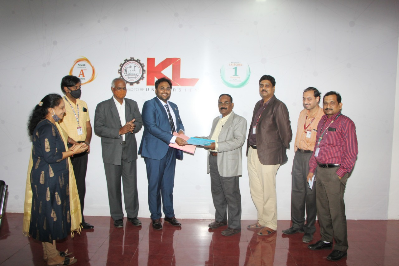 KL Deemed to be University signs MOU with Indo Euro Sync