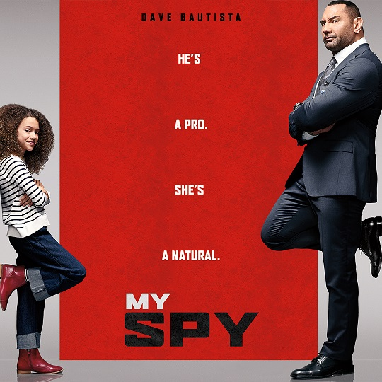 Lionsgate Play presents an American comedy movie My Spy starring Dave Bautista