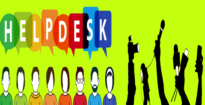 Special help desk for journalists