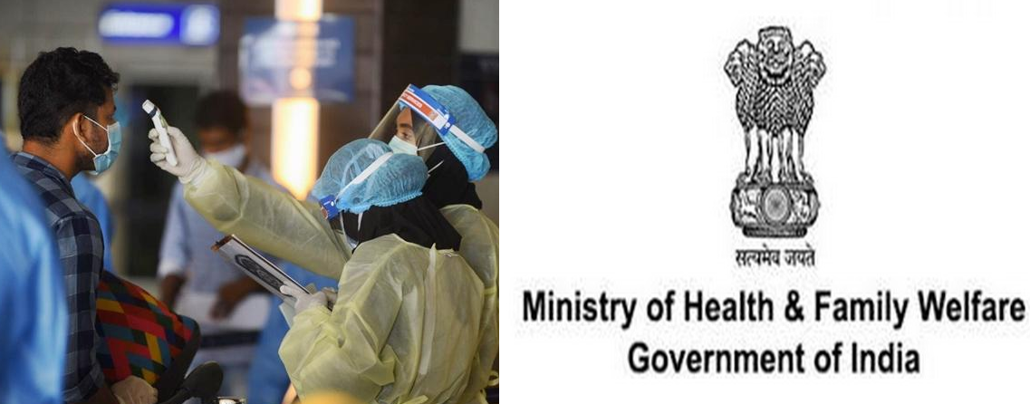 Union Health Ministry issues Revised Guidelines for Home Isolation of Mild and Asymptomatic COVID-19 cases