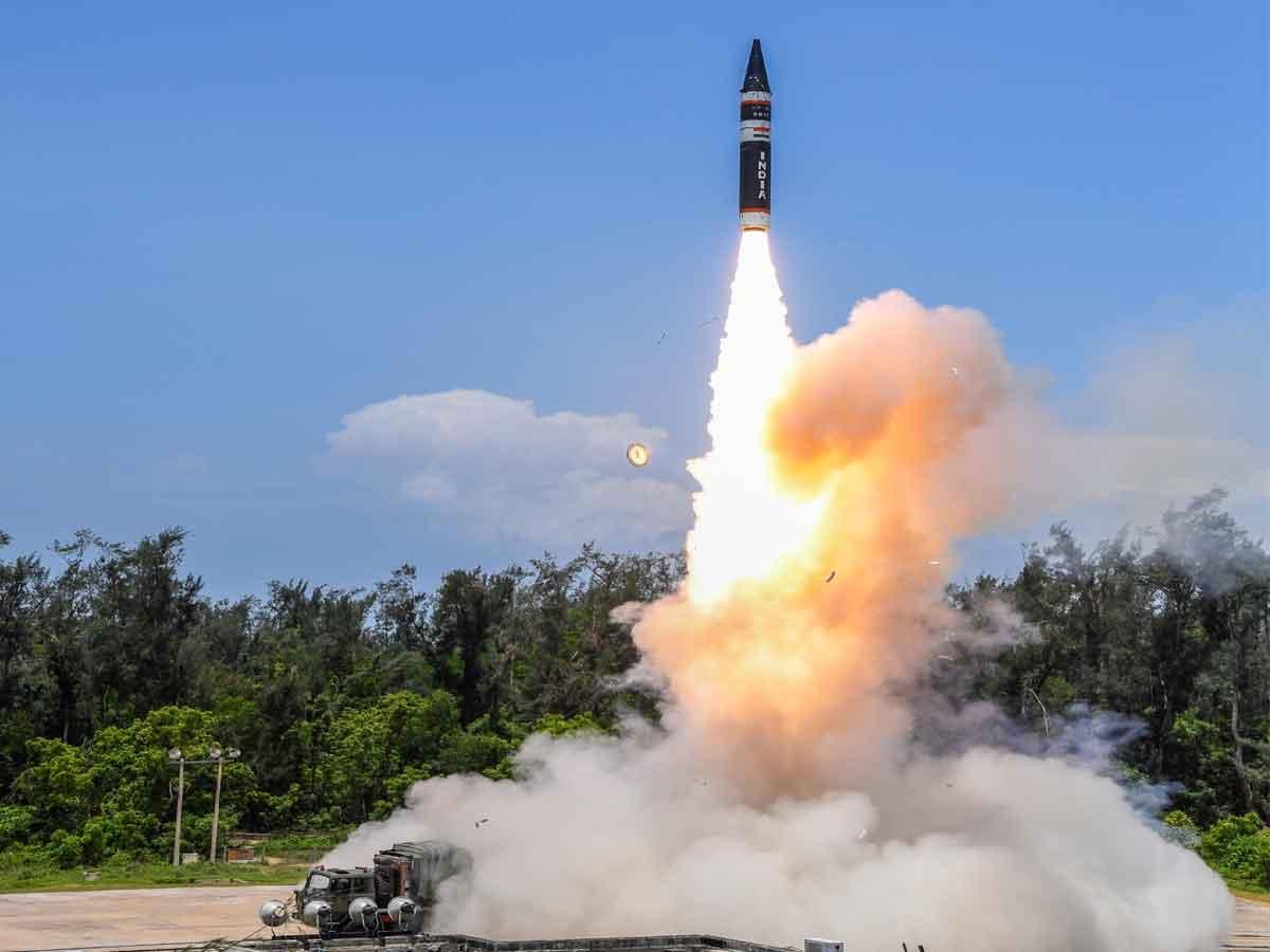 New Generation Agni P Ballistic Missile