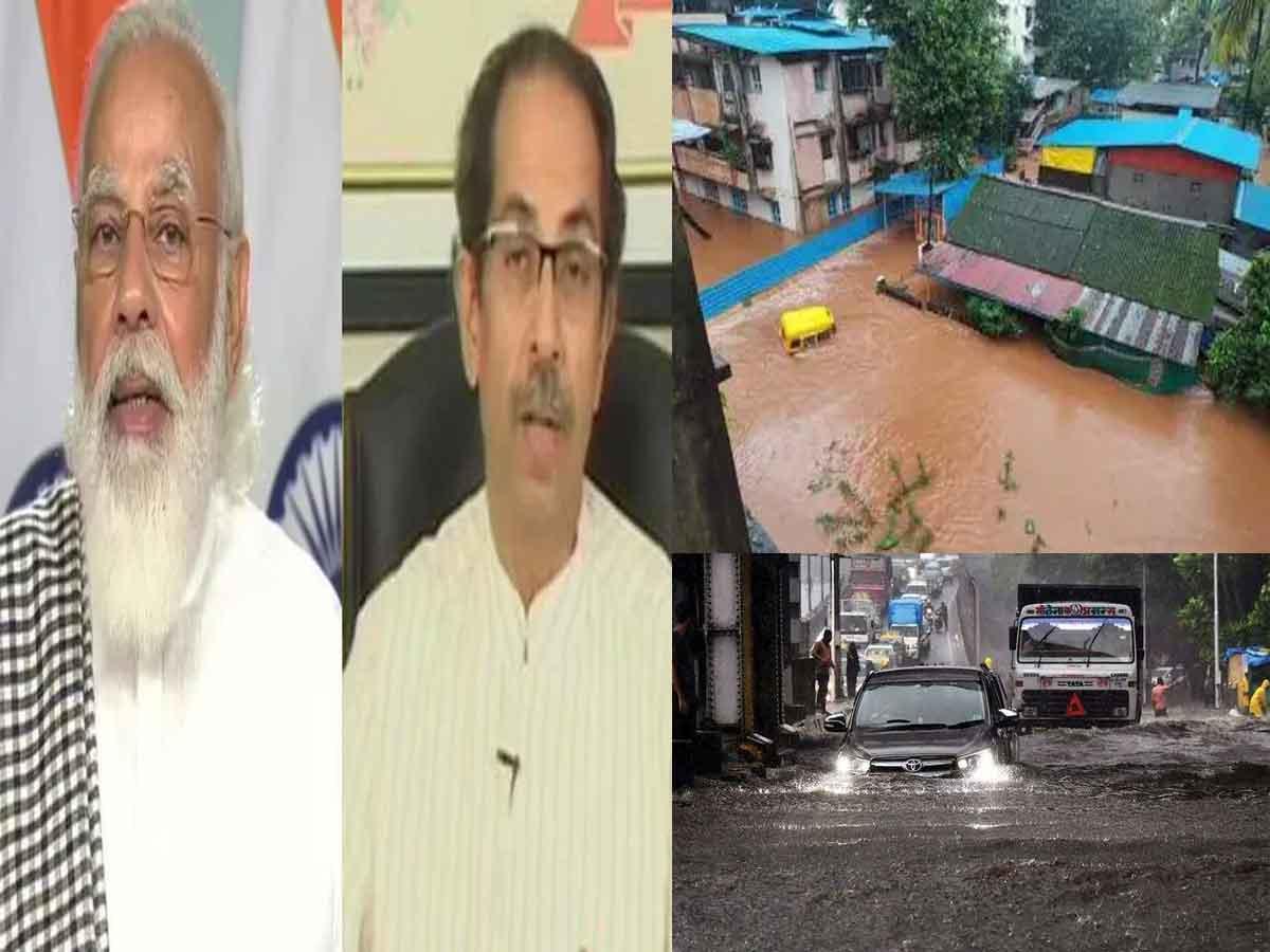 PM speaks to Maharashtra CM about flood situation in Maharashtra