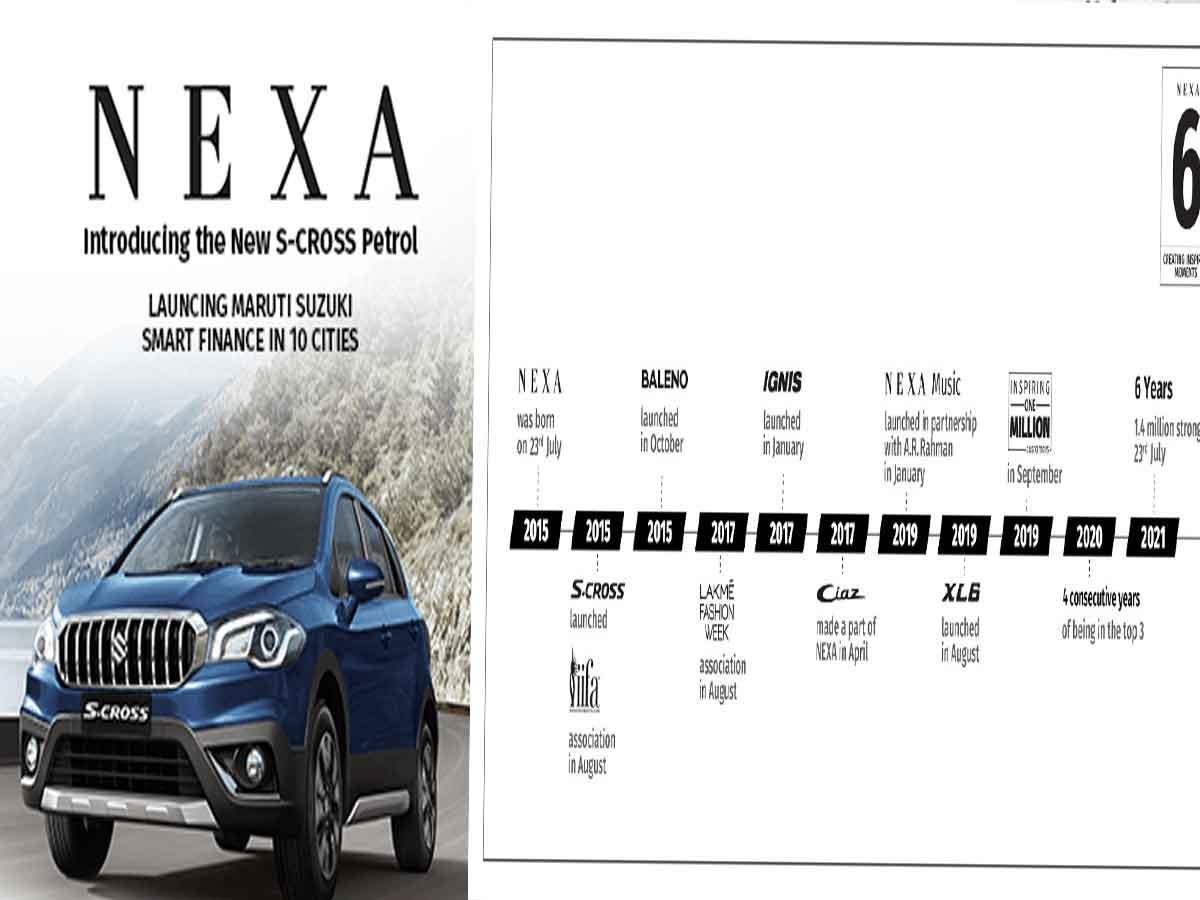 NEXA celebrates 6 splendid years of success: delivering premium automotive experiences to its customers