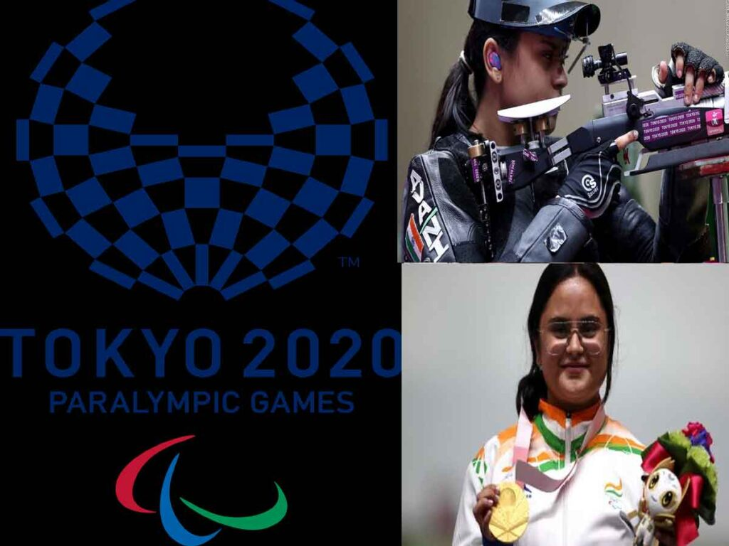 India's Avani Lekhara becomes the first Indian woman in history to win a Paralympic Gold medal in shooting for the country