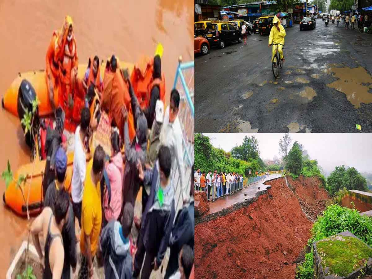 Rs 100 crore sanctioned for Restoration of roads affected by unprecedented rains in Konkan and Western Maharashtra