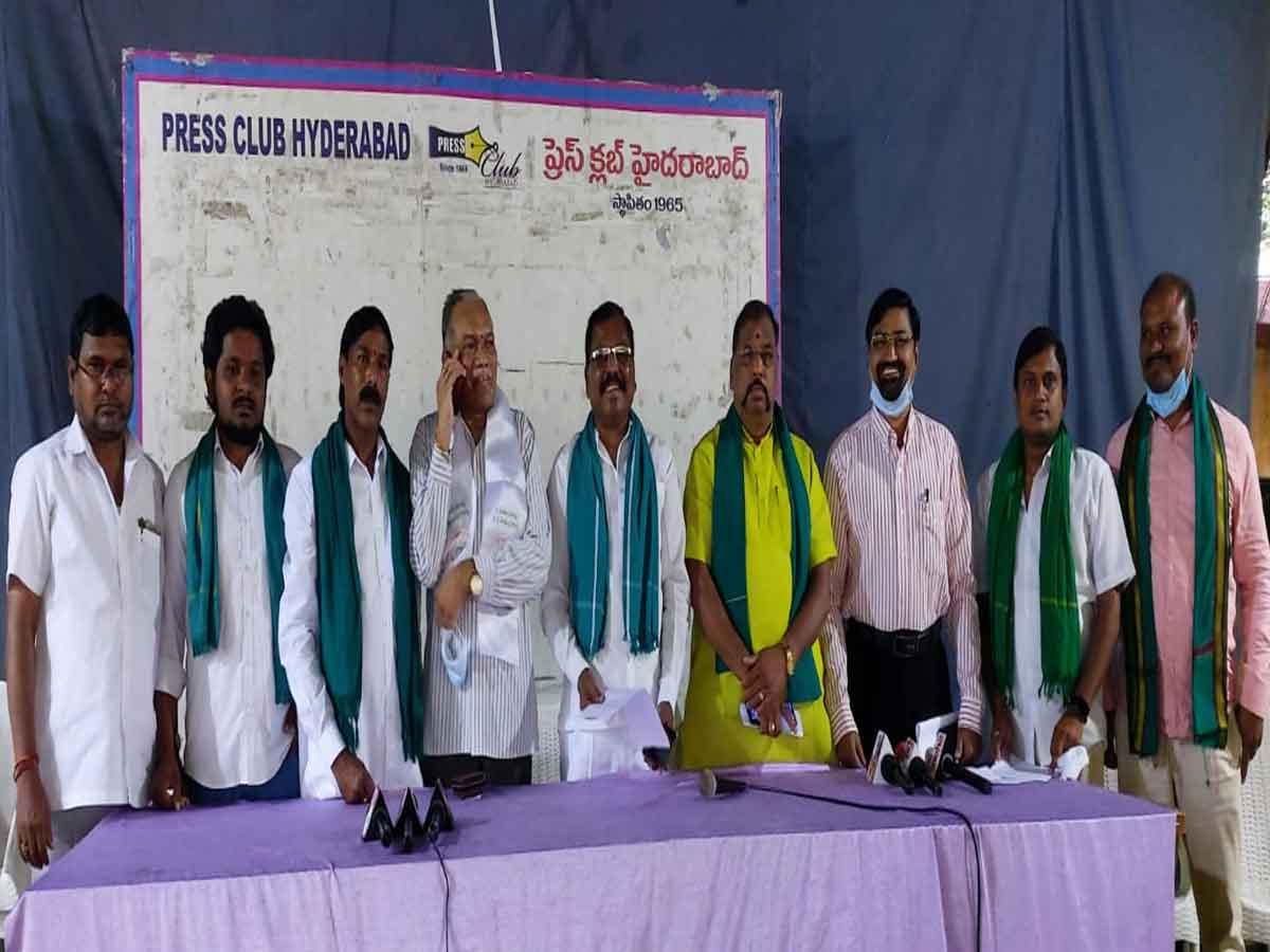 Munnuru kapu leaders condemned MLA Mainampally hanumantharao comments