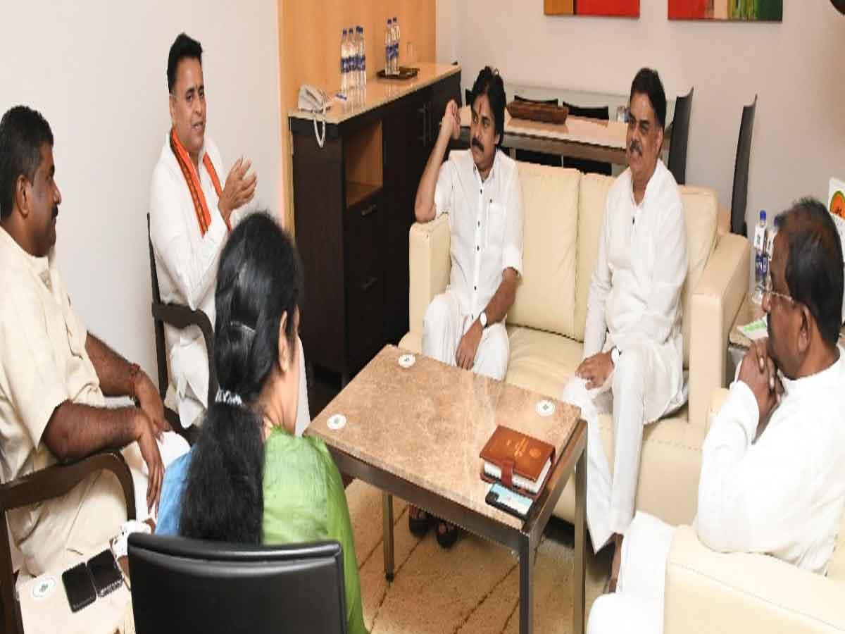 Janasena-BJP coordination meeting