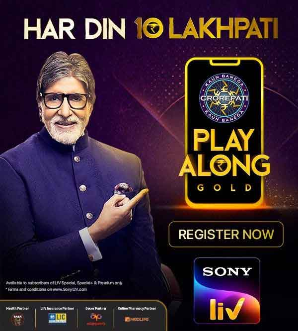 A never seen before opportunity to win Big on SonyLIV-SonyLIV offers PlayAlong for three shows across Hindi, Marathi and Telugu for its diverse audience-
