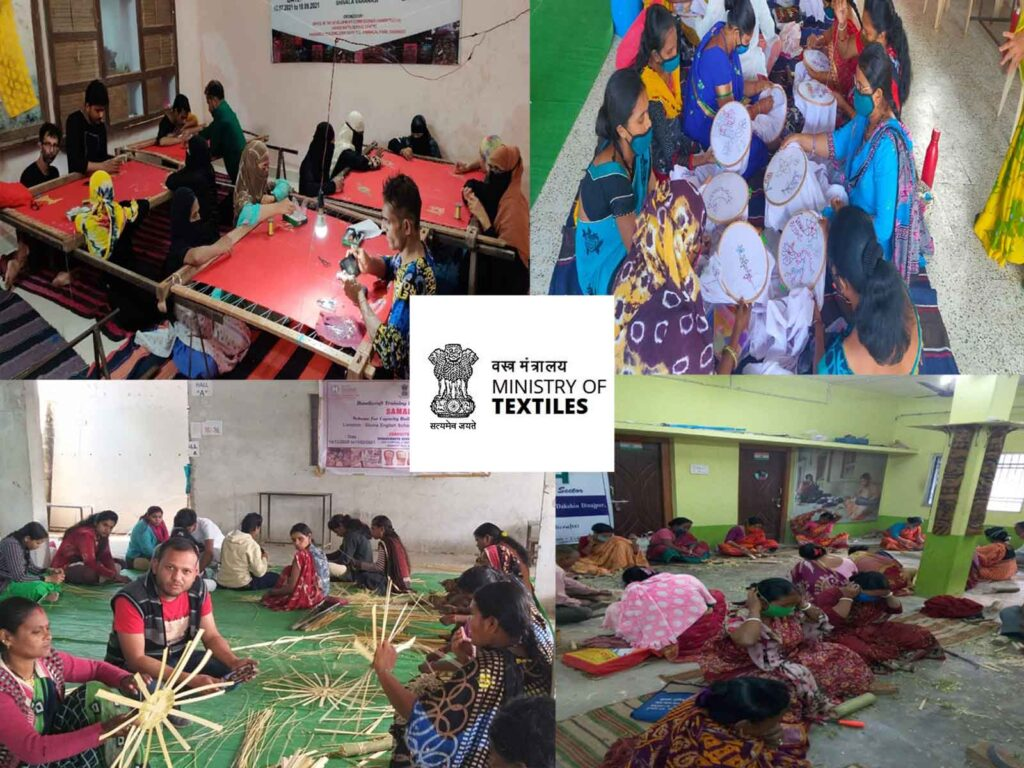 1,565 artisans benefitted by training in 63 Samarth Training Centres;