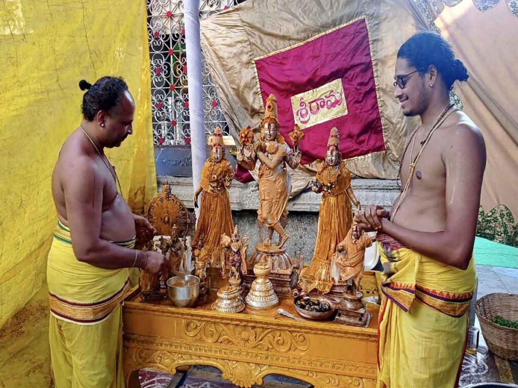 Maha samprokshana in Sri Venugopalaswamy temple
