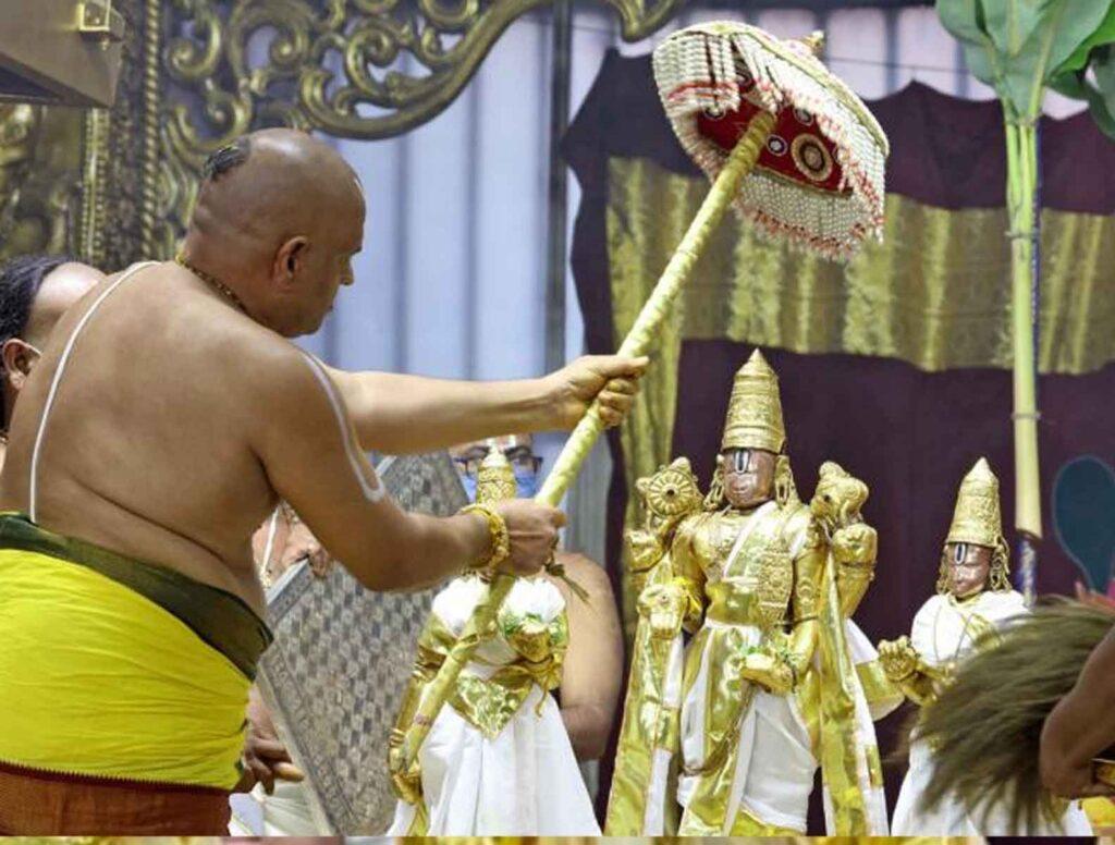Kosuvaripalli Sri Prasannavenkataramana Swami's Holiday Celebrations from 15th to 17th September