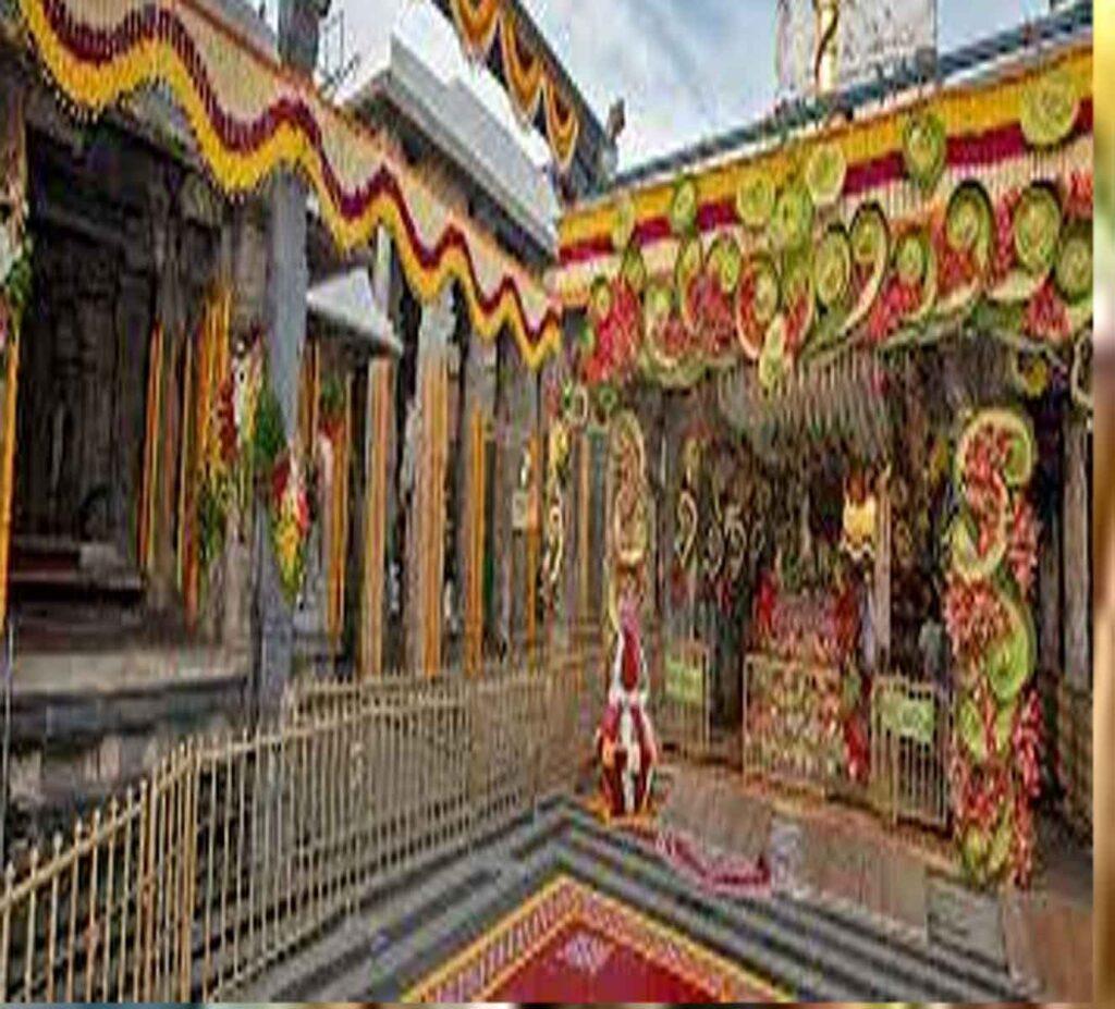 The Gokulashtami court is scientifically located in the Srivari temple