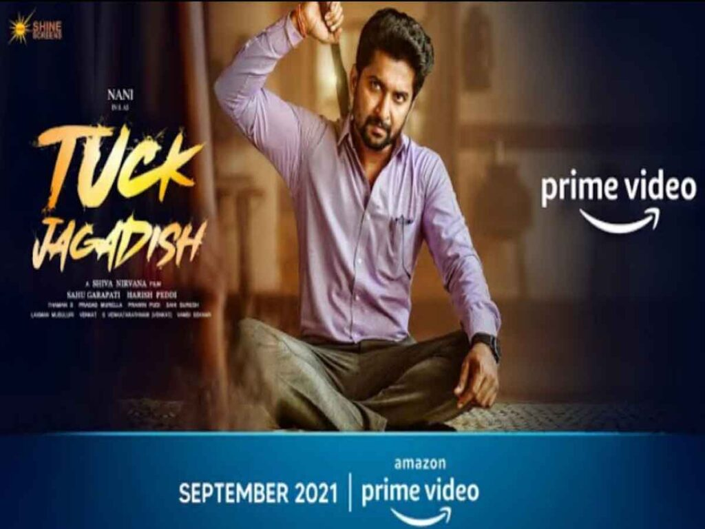 amazon prime video announces the release date of the highly anticipated telugu family drama tuck jagadish, starring 'natural star' nani