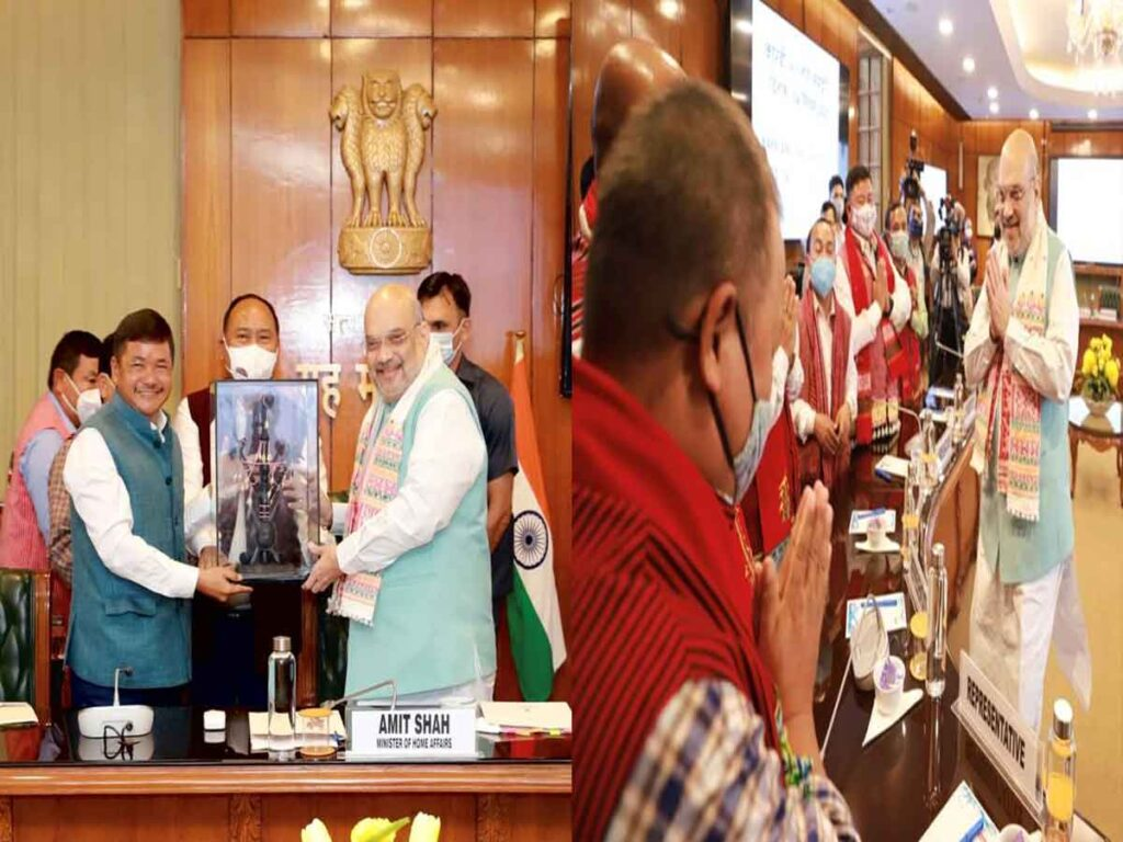 """Karbi Agreement-another milestone in PM's vision of """"Insurgency free prosperous North East"""": Amit Shah"""