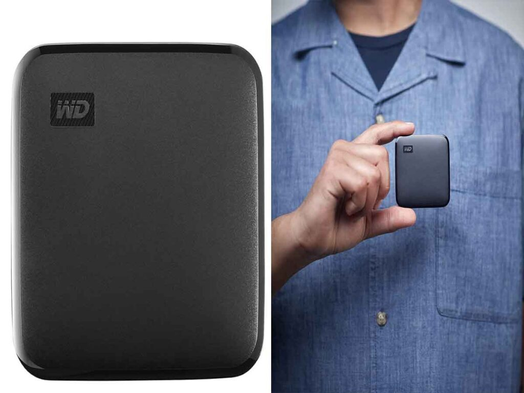 WD Elements SE external SSD is a productivity-driven solution for Mac and PC users.