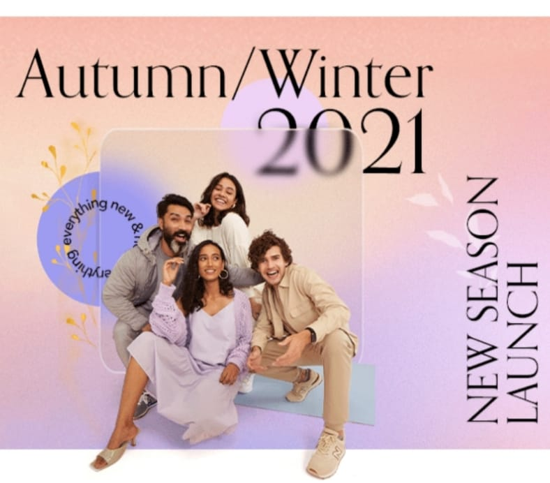 Introducing the Autumn Winter'21 Store on Amazon Fashion