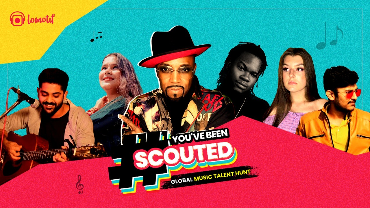 Lomotif lifts the curtain on the top FIVE contestants of its much-awaited global talent hunt 'You've Been Scouted'