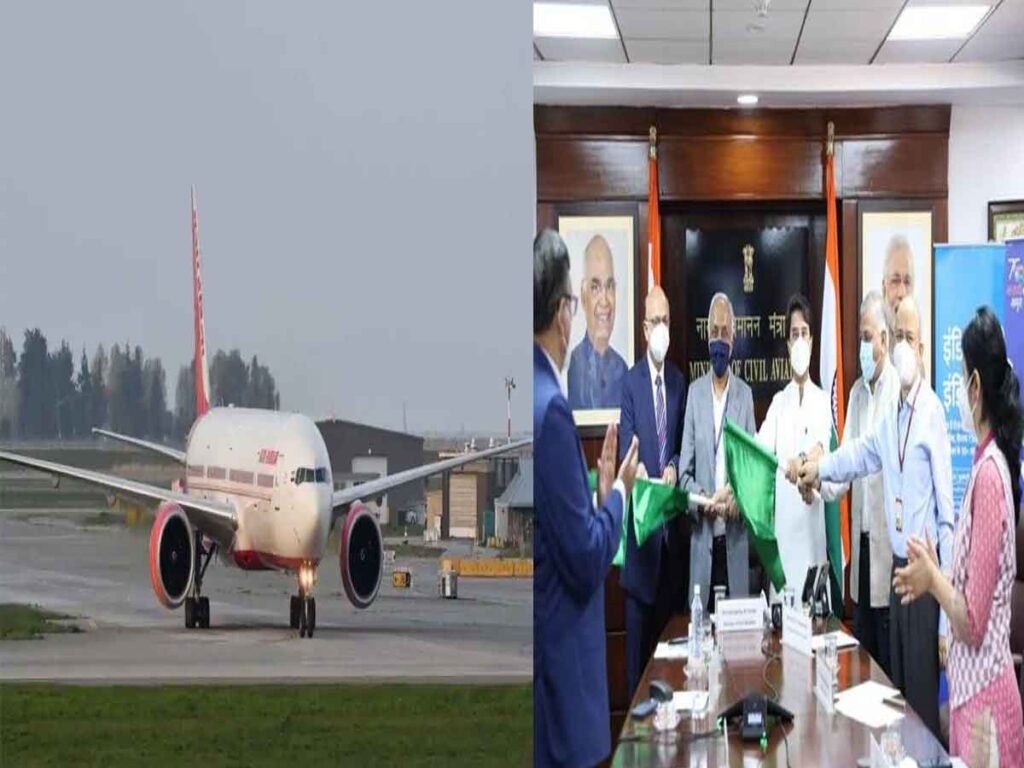 Civil Aviation Minister Jyotiraditya Scindia inaugurates first direct Gwalior-Indore flight Indore-Dubai flight resume