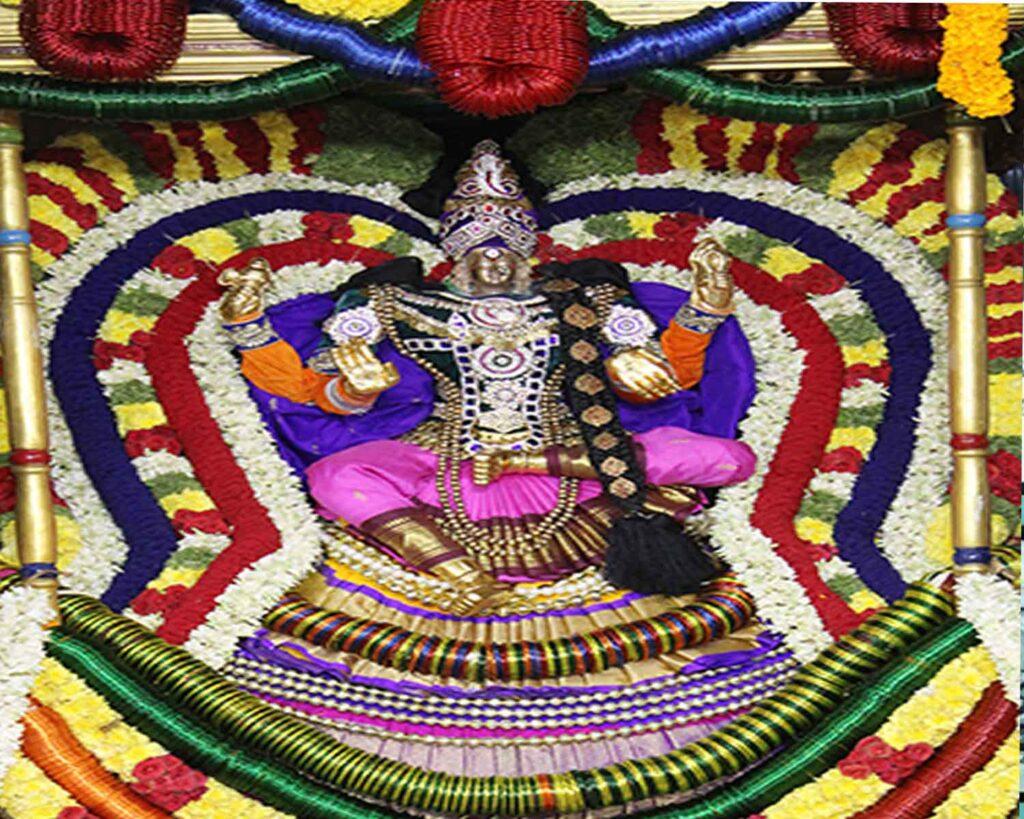 LAKSHA KUMKUMARCHANA AT SRI Kapileswara Swamy Temple