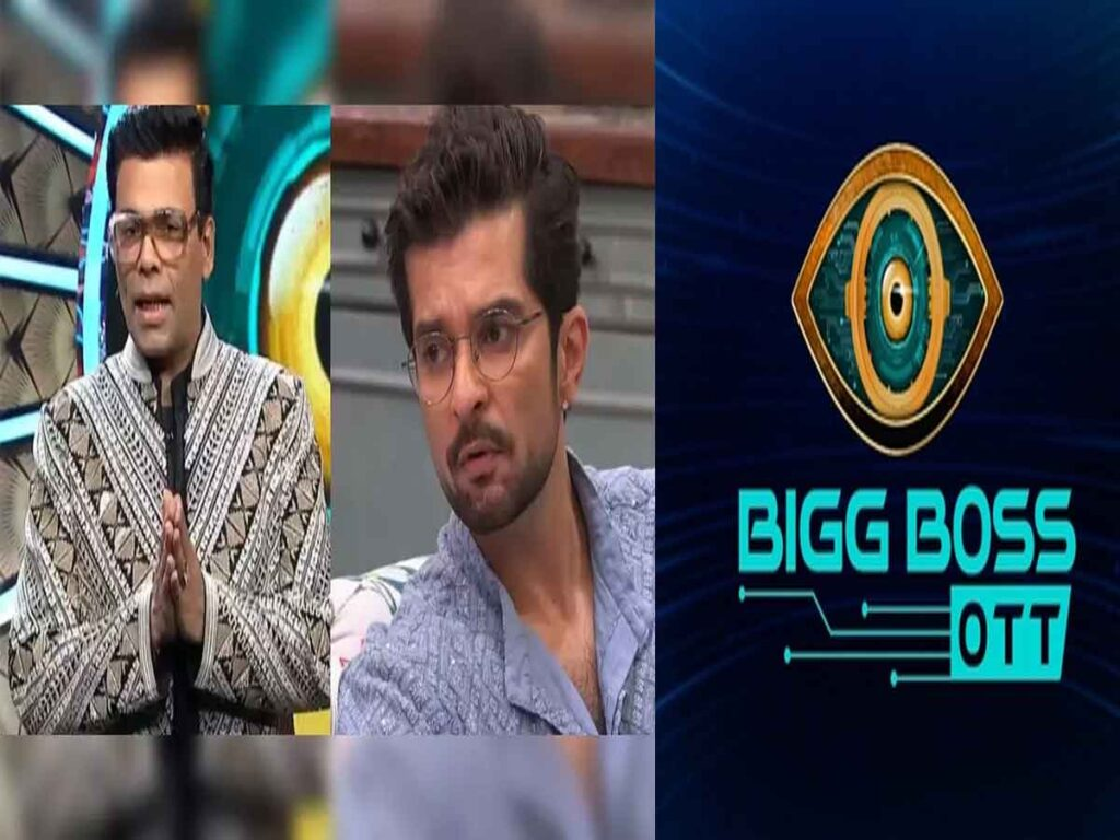 Raqesh Bapat is sexist… says Karan Johar on Bigg Boss OTT's Sunday Ka Vaar