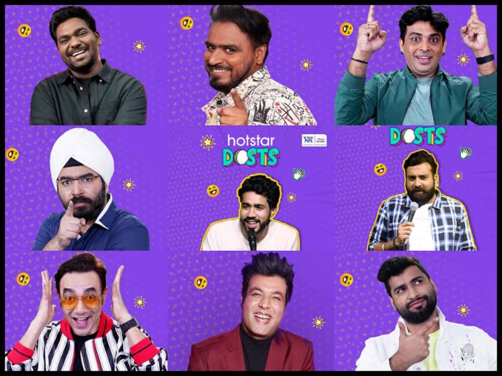 Disney+ Hotstar unlocks a whole new level of cricketainment with 'Hotstar Dosts' on VIVO IPL, Popular entertainers and more turn commentators