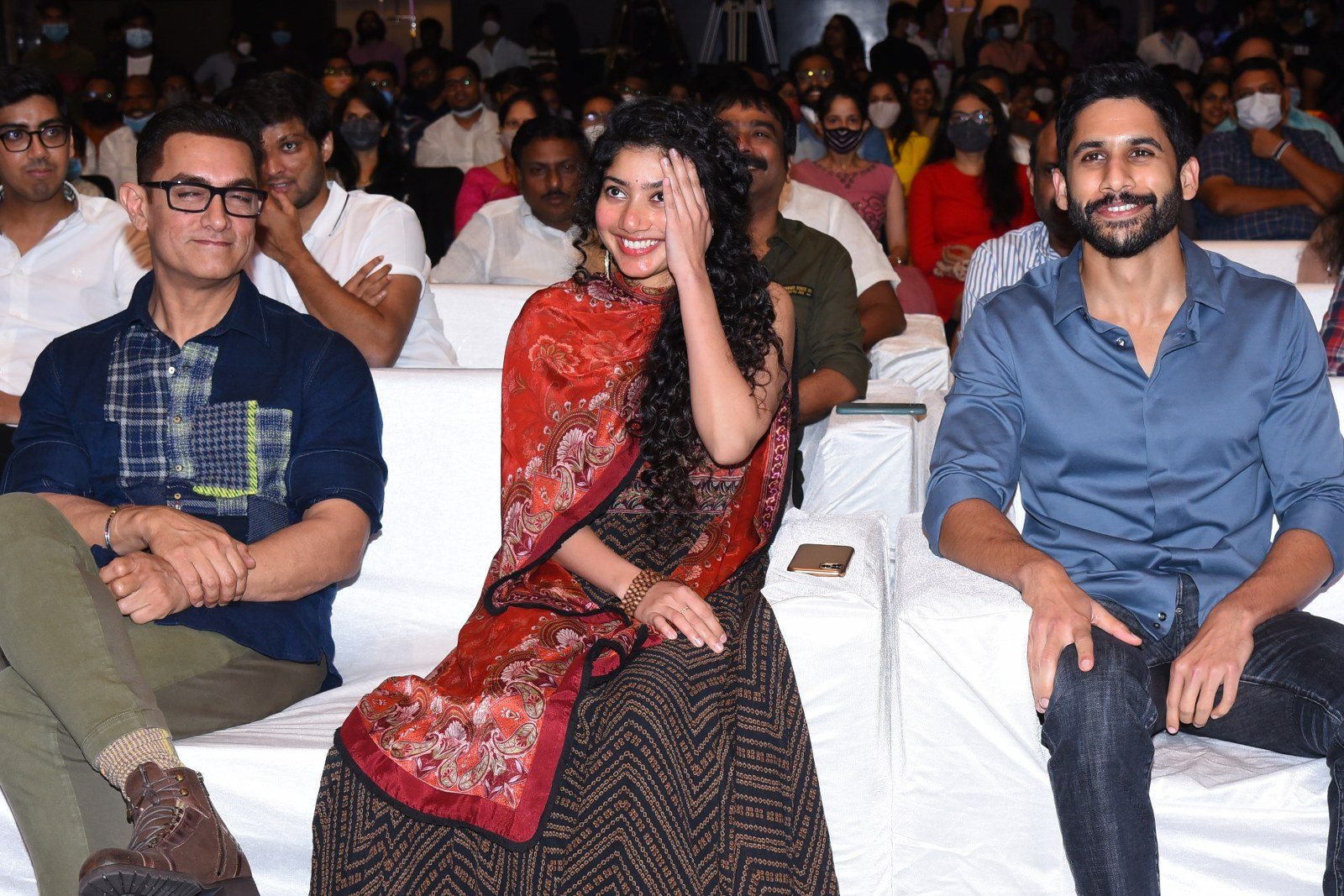 love story pre release event..