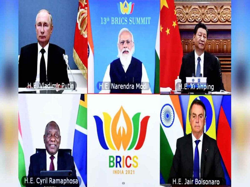 Prime Minister chairs 13th BRICS Summit