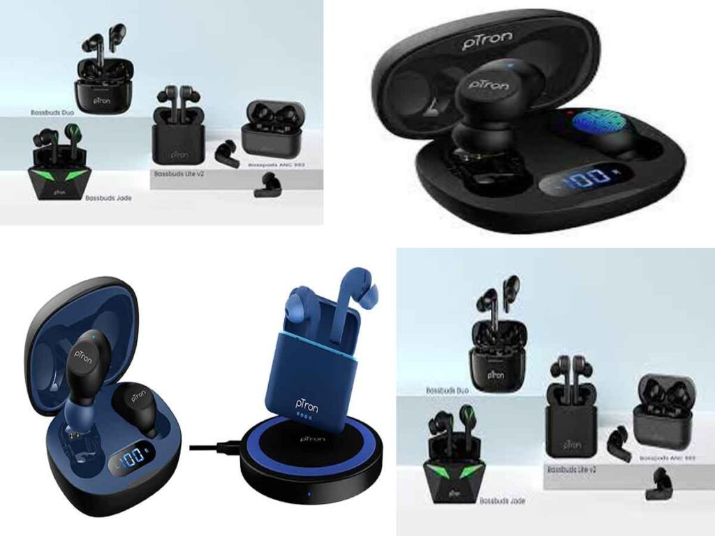 pTron launches Gaming Earbuds and 3 New TWS Earbuds ahead of the Festive Season; Prices starts at 999/-