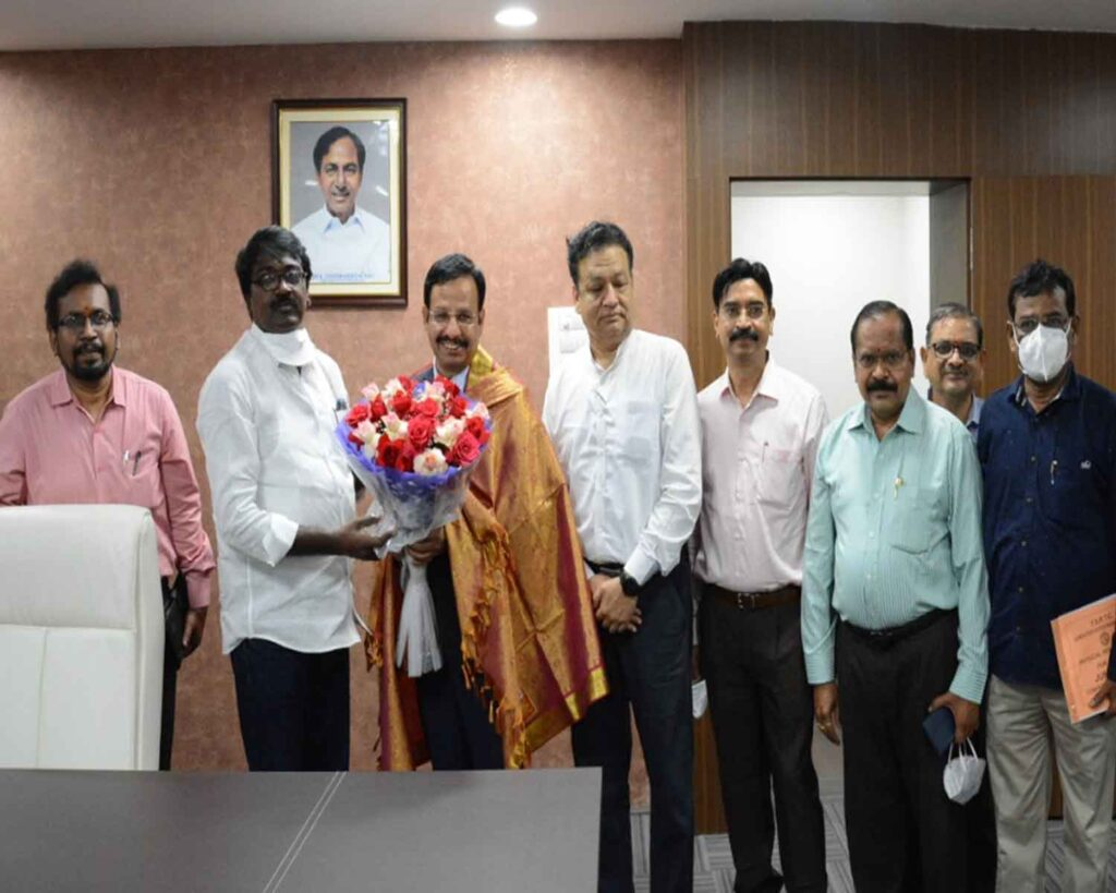 IPS officer VC Sajjanar takes charge as TSRTC MD