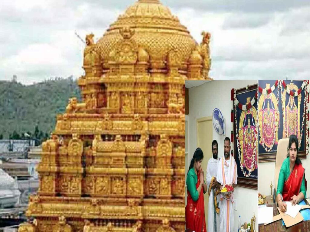 Action should be taken to launch new services in TTD temples: JEO Smt. Sada Bhargavi