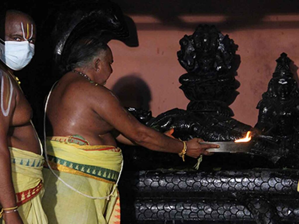 Balalayam fete at Sri Govindaraja Swamy temple