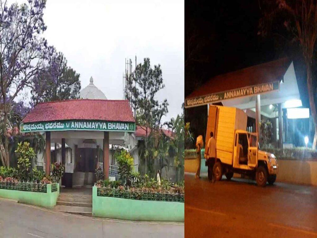 Details on Annamayya Bhavain Hotel Arrears Collection
