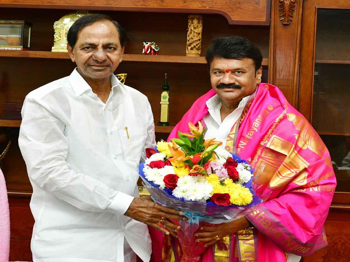 CM KCR birthday wishes to Minister Talasani srinivas yadav